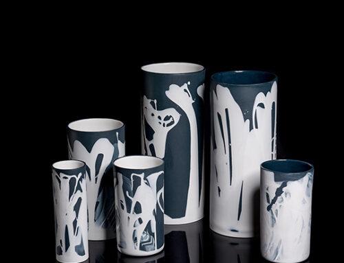 Vazen in zwart_wit_grijs